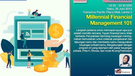 Millennial Financial Management 101 bersama @america