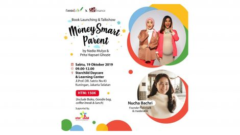 "Book Launching & Talkshow ""Money Smart Parent"" with Parentalk"