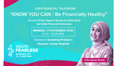 "Fimela Fest 2019. ""Know You Can: Be Financially Healthy"""