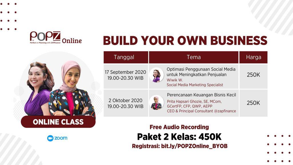Build Your Own Business – Perencanaan Keuangan Bisnis Kecil